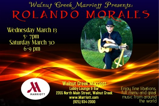 Rolando Morales performs with saxophonist Sonya Jason at Havana's in Walnut Creek at March 16, 2019