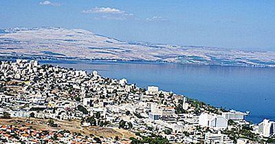 Il Mare Di Galilea è Un Lago Dacqua Dolce E Non Un Mare