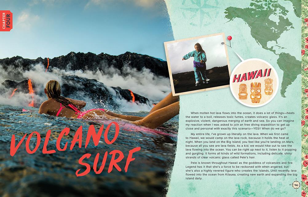 Alison Volcano Surf