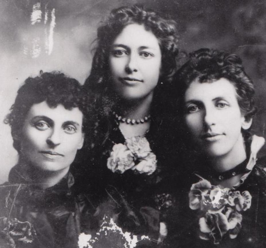 Три сестры Черри: Адди, Джесси и Эффи