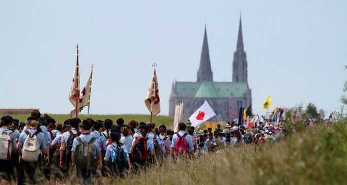 Cardinal Sarah P%C3%A8lerinage-Chartres-2014
