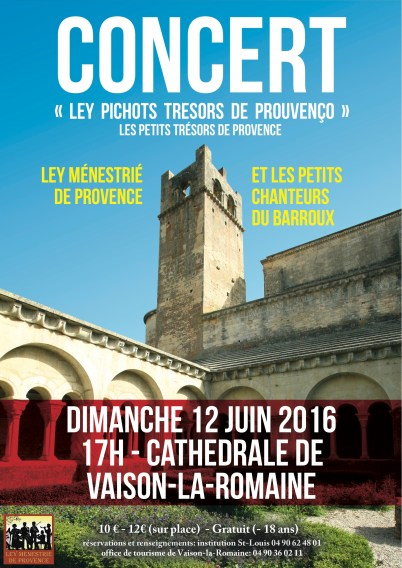 Concert Institution St Louis Le Barroux 2016