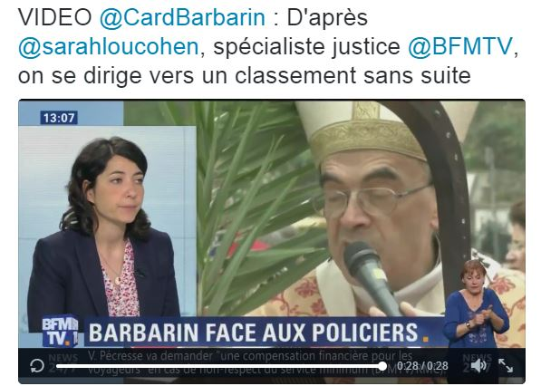 barbarin sans suite