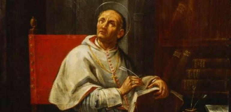 François Bergoglio St-pierre-damien
