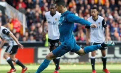 Ronaldo converts two penalties in Madrid's win at Valencia