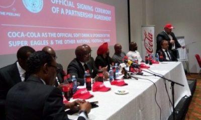 NFF partners with Coca-Cola, unveils Super Eagles 2018 World Cup program
