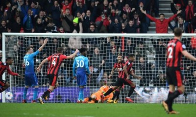 Iwobi bags assist in Arsenal's defeat at Bournemouth