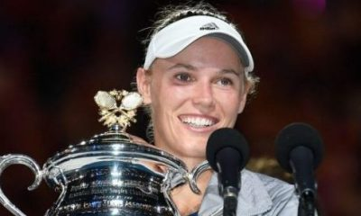 AUSSIE OPEN: Wozniacki beats Halep to win first Grand Slam title