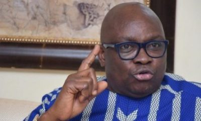 Fayose reiterates call for Buhari to resign, says his govt disastrous