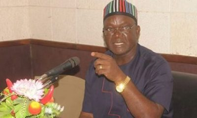 Ortom cries out again! Says herdsmen have killed 60 farmers in Benue
