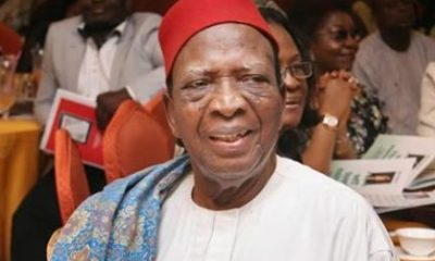 Nigeria is bleeding to death, needs a leader to save it –Prof Nwabueze