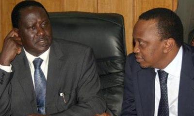 Kenyatta meets with fiery opposition leader Odinga