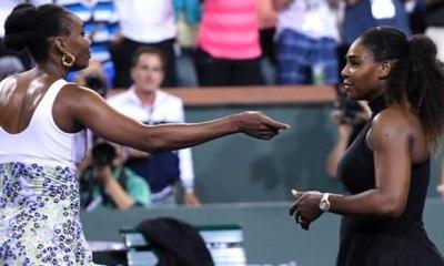 Venus Williams stops sister Serena at Indian Wells
