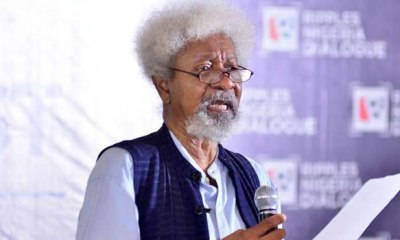 FOR THE RECORDS: Lecture delivered by Professor Wole Soyinka at Ripples Nigeria Dialogue