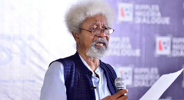 Image result for Time to change Nigeria is now, says Soyinka