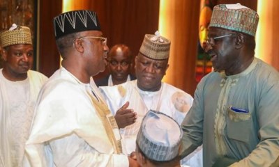 Stalemate as Buhari's meeting with APC governors ends