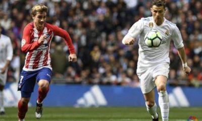 Ronaldo, Griezmann score in Madrid derby draw