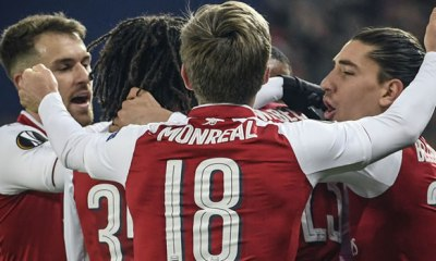 Arsenal draw Atletico in Europa League semis; Marseille to face Salzburg
