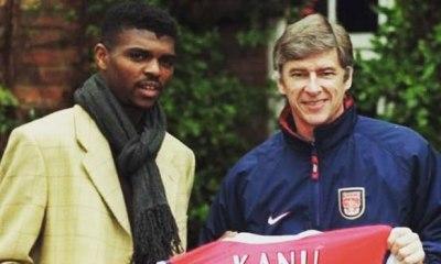 Arsenal legend Nwankwo Kanu pays tribute to Wenger