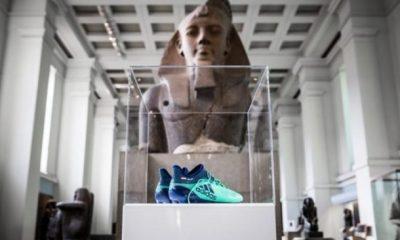 salah boots in british museum