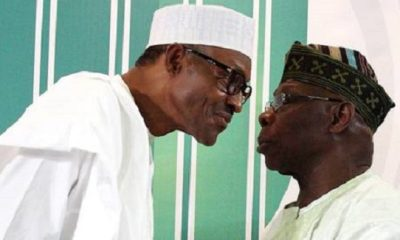 No president 'with proper understanding of the issue would utter such'— Obasanjo replies Buhari