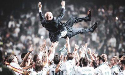 Zinedine Zidane champions league win UCL