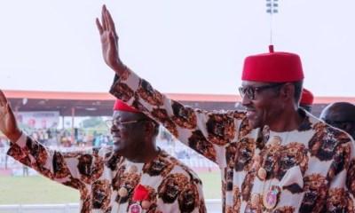 Instead of criticising 'my boss' Buhari, I'll rather 'face my duties'— Umahi