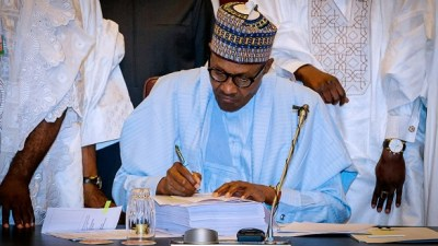 Image result for Buhari cuts N/Assembly budget by N14.5bn