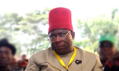 Okorocha is a pain in the neck of Imo people, Sen Umeh laments