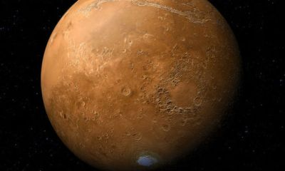 Researchers discover lake beneath southern pole of Mars