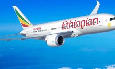 Keny-bound Ethiopian Airlines crashes