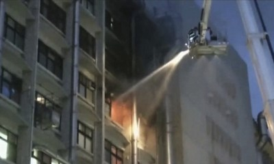 Inferno at Taiwan hospital claims 9 lives