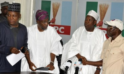 APC governors win as Oshiomhole hands off mode of primaries