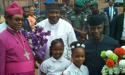 Don't let anyone deceive you, Nigeria's problem isn't ethnicity or religion— Osinbajo