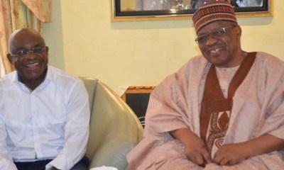 2019: Like other PDP aspirants, David Mark visits Babangida