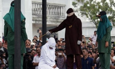 Furore as 2 Malaysian women are flogged publicly for lesbian acts