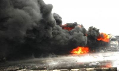 Tragedy as another tanker explotion kills many in Lagos
