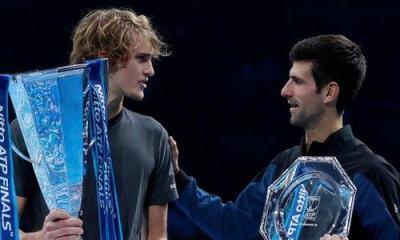 Zverev and Djokovic
