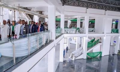 PHOTO NEWS: Buhari commissions new Abuja airport terminal