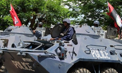 Police denies reports that over 100 officers deployed to fight Boko Haram have absconded