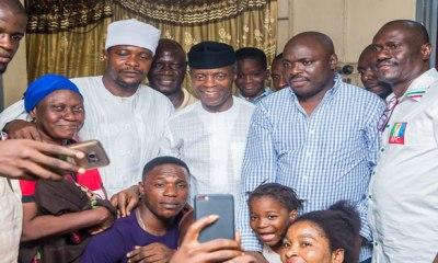 2019: Osinbajo embarks on door-to-door campaign in Lagos