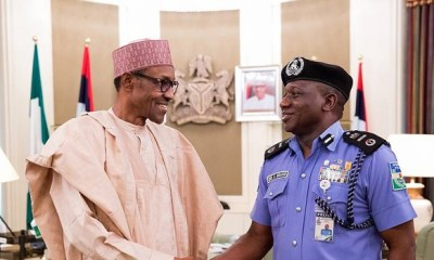 Amid rumours of planned post-retirement tenure extension, IGP Idris meets Buhari