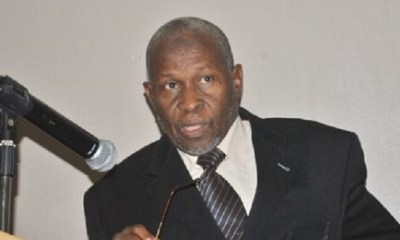 BREAKING: Buhari swears in Justice Tanko Muhammad as Ag. Chief Justice of Nigeria