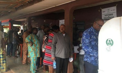 Obi, wife cast their votes, lament 'clumsy' INEC arrangement