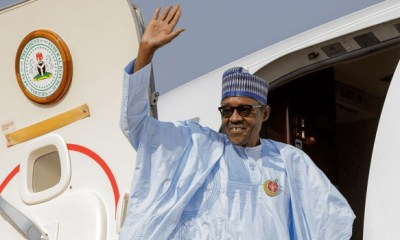 Buhari jets out of Nigeria for World Economic Forum