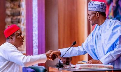 Buhari swears in chairman, 30 commissioners of RMAFC board