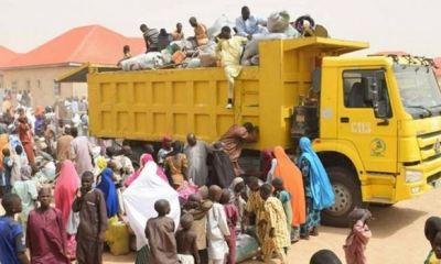 ZAMFARA: Army claims IDP's are returning to their villages