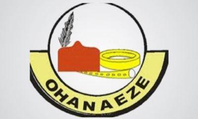 'Monkey de work, baboon de chop,' Northern group mocks Ohaneze for begging Buhari for SGF slot