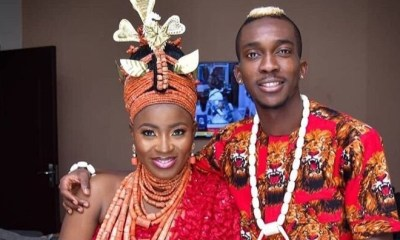 'Congrats to the Onyekurus' – Fans wish Eagles striker well on wedding day