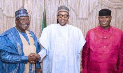 MINISTERIAL LIST: Buhari, NASS leadership, Oshiomhole converge for urgent meeting